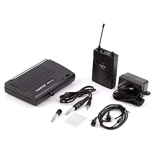 WPM-100 Upgraded in Ear Professional UHF Stage PLL Monitor Wireless System Amplifier Low Power Consumption