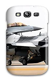 For Galaxy S3 Premium Tpu Case Cover Airforce Fighters Protective Case