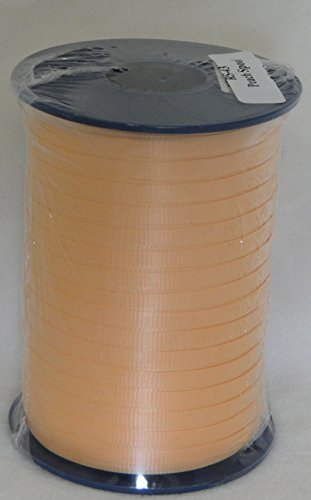 """Peach 3/16"""" Curling Ribbon 500 Yards  Balloons, Gifts, Party"""