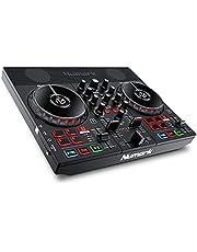 Numark Party Mix Live - DJ Controller / DJ Set met DJ Verlichting, DJ Luidsprekers en DJ Mixer voor Serato DJ Lite en Algoriddim djay Pro AI