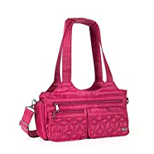Lug Women's Streetcar Short Travel Tote, Cranberry Red, One Size