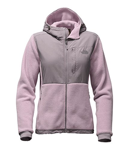 The North Face Women's Denali Hoodie Large Quail Grey/Rabbit Grey by The North Face