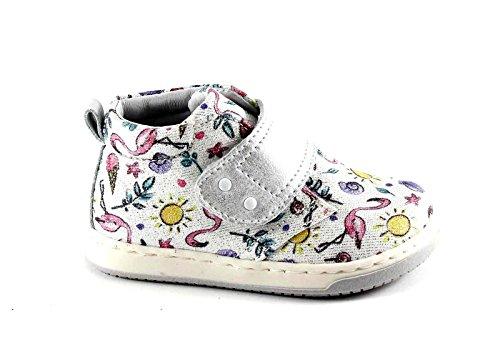 JUGUETES 474.261 23/24 MINI bebé blanco zapatos de flamenco Tear de plata Bianco