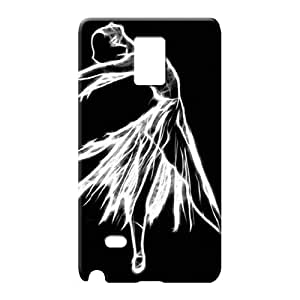 samsung note 4 Strong Protect High Quality Hd phone carrying case cover ballerina