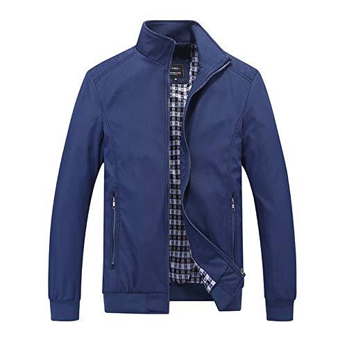 FANMURAN Chaqueta de Camuflaje Moda Hombre Casual Chaqueta de Bombardero Masculina y Abrigos más del tamaño Outwear Tops...