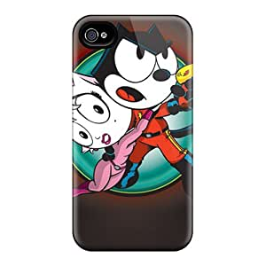 Shock Absorption Cell-phone Hard Covers For Iphone 6 With Support Your Personal Customized Fashion Felix The Cat Skin MarieFrancePitre