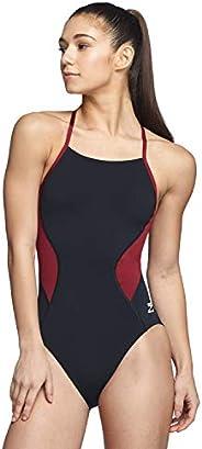 Speedo Women's Swimsuit One Piece Endurance+ Cross Back Solid Adult Team Co