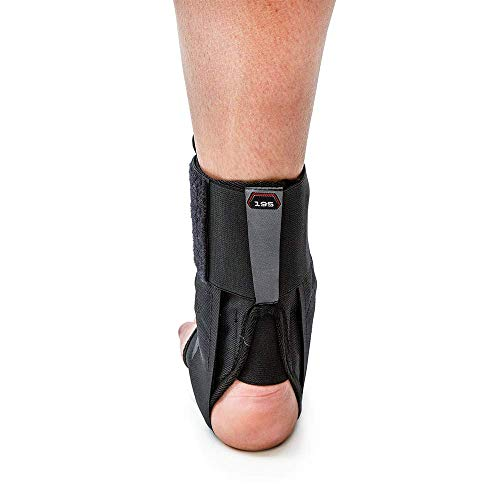 McDavid 195 Deluxe Ankle Brace with Strap (Black, Small) by McDavid (Image #2)