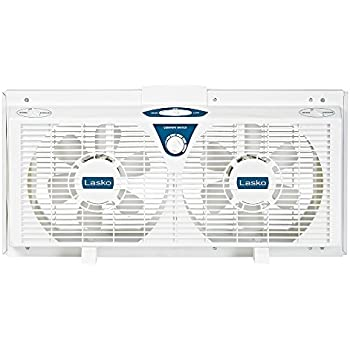 Amazon Com Lasko Twin Electric Reverse Window Fan Ea