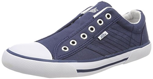 Lico Damen Conny Slip On Sneaker Blau (Marine)