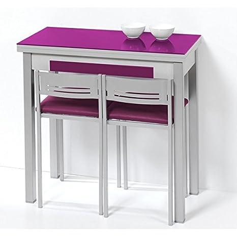 Mesa de cocina de 80x40 cm con apertura libro y tapa de ...