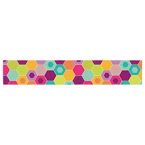 KESS InHouse Nicole Ketchum ''Arabian Bee'' Table Runner, 16'' x 90'' by Kess InHouse