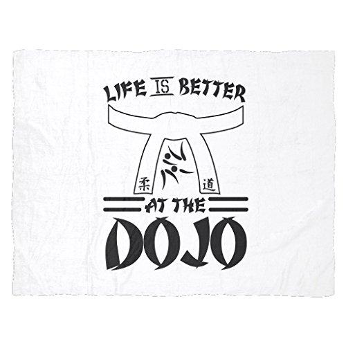 Lifetime is Better at the Dojo | Funny Karate Gift Fleece Blanket