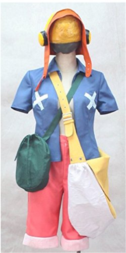 Vicwin-One One Piece Monkey·D·Luffy Suit Cosplay Costume