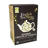 English Tea Shop Organic Chocolate Rooibos and Vanilla, 20 Teabags