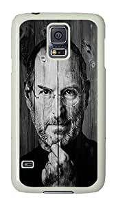 Samsung Galaxy S5 Case, Galaxy S5 Cover - Rugged Plastic Jobs PC Plastic Hard Shell Case Snap On Back Cover for Samsung Galaxy S5 I9600 White