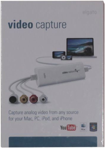 Elgato Video Capture - Digitize Video for Mac, PC or iPad (USB 2 0)