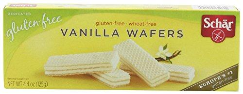 SCHAR   Wafers-Vanilla/ [Gluten Free] 4.4 Oz [1 Pack]