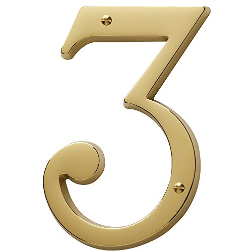 Baldwin Brass House Numbers - 5