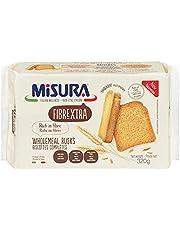 Misura Fibrextra Rusks, Rich in Fibre, Wholemeal, Italian Wellness, Non GMO, 320g