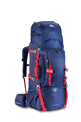 High Sierra 53716 5434 Tech Series Titan 65 Frame Backpack