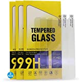IMIFUN 9H Ultra-Thin Tempered Glass for iPhone XR XS Screen Protector (Pack of 3) Protective Glass Film Screen Protector Film for iPhone XSMax(3 Pack) (Anti Blue Light, XSMax)