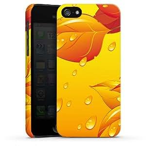 Carcasa Design Funda para Apple iPhone 5 PremiumCase white - Sunny Rain