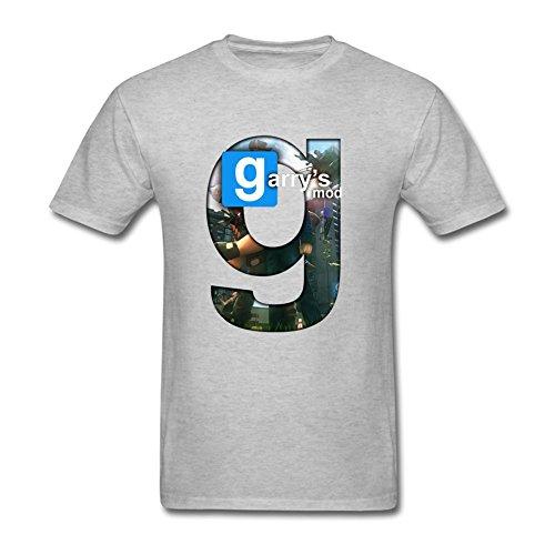 Price comparison product image Kingdiny Men's Garrys Mod Game Logo T Shirt