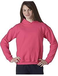 Gildan Big Boys' Heavy Blend Hooded Pocket Sweatshirt,...