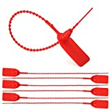 Leadseals(R) 1050 PCS Red Numbered Security Zip