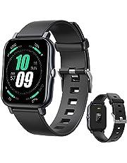 Smart Watch,Fitness Tracker,16 Sportmodi,IP68 Waterdicht Smartwatch,Activity Tracker met Temperatuurmeting,Hartslagmeting, Bloeddruk- en Zuurstofbewaking,Slaapbewaking en Calorieteller