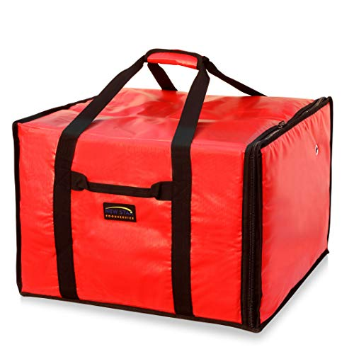 New Star 50134 Insulated Pizza Delivery Bag, 20 by 19 by 13.2-Inch, -