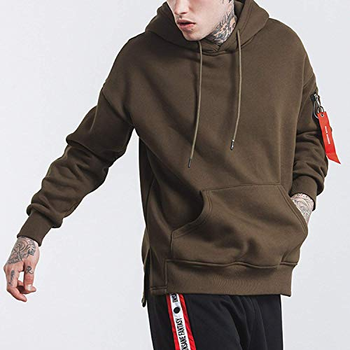 Warm Jacket Down Men's Ntel Armeegrün Clásico Winter Lightweight Tops Jacket Jacket Outwear Short Casual Laisla Boy fashion Outwear Jacket Men's Hood Jacket Sports with 6qZ0Fw