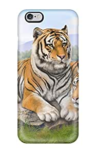 7791585K15207624 New Tigers Art Tpu Skin Case Compatible With Iphone 6 Plus