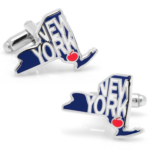 Cufflinks, Inc. State of New York Cufflinks (CC-NY-SL)