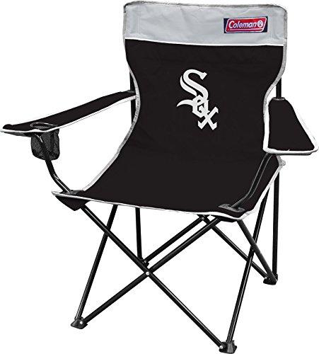 MLB Chicago White Sox Broadband Quad Chair, Large, Black
