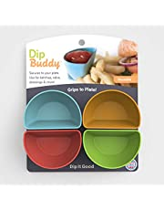 Dip Buddy by Mighty Good Solutions (Includes 4 Individual Dipping containers)
