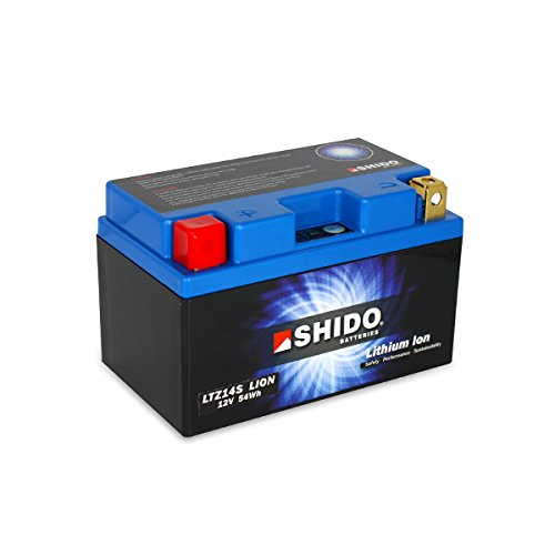 SHIDO LTZ14S LION -S- Batterie Lithium, Ion Blau (Preis inkl. EUR 7,50 Pfand) DC AFAM NV