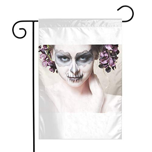 MINIOZE Halloween-Zombie Bride Makeup Girl Themed Welcome Mailbox Small Jumbo for Outdoor Decorations Ornament Picks Garden House Home Yard Traditional Decorative Front -