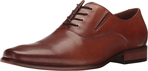 ALDO Men's Dress Lace Up Shoes, OLILIRIA in Cognac, Size 10.5 Uniform D US