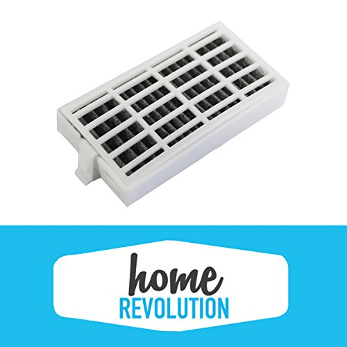 3 Whirlpool Air1 Fresh Flow Home Revolution Brand Compatible Air Purifying Fridge Filter Compares to Air 1 Part # W10311524, 2319308 & W10335147