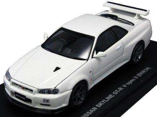 Kyosho Mini kyos03381 W Nissan Skyline GTR Weiß Maßstab 1: 43