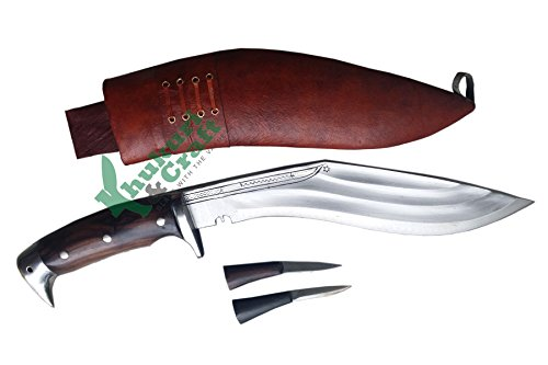 11 Blade American eagle 3 fullers best kukri brown sheath working,military knives,handmade by Khukuri  Craft, Nepal