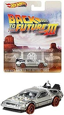 2019 HOT WHEELS ENTERTAINMENT SERIES BACK TO THE FUTURE III 1955 TIME MACHINE