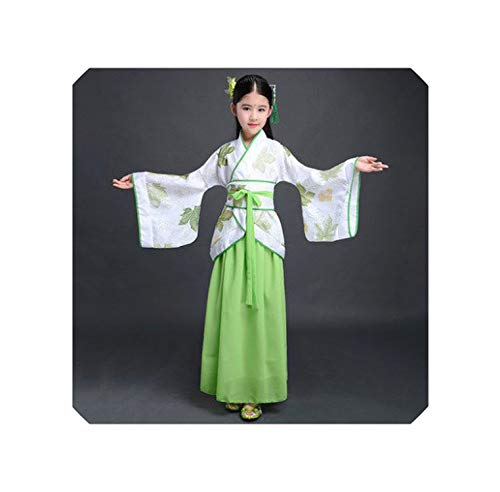 France Traditional Costumes For Kids - Hanfu Chinese Dress Minority Dance Kids
