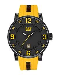 Caterpillar NJ.161.27.137 Reloj Análogo de Lujo, para Hombre, amarillo y negro