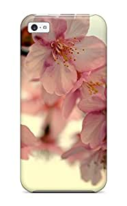 New Style Tpu 5c Protective Case Cover/ Iphone Case - Flower