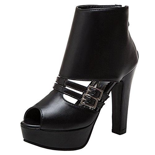 Donna Black Mode 2 Sandali Zanpa Piattaforma d5UfwSXUqx