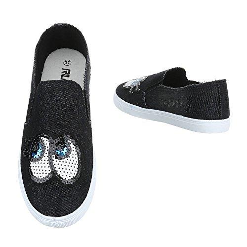 Design Fc Dames Noir Soulier De Chaussures Italien v205 Basses BwAqw