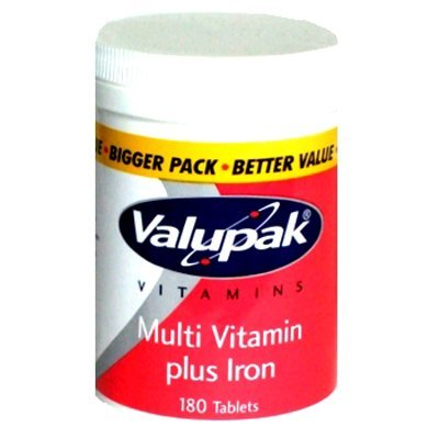 Valupak Multi Vitaminas y hierro 50